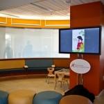 Makenna David Pediatric Emergency Center waiting room. Photo courtesy of Amber Schmidt.