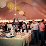 Makenna Foundation Art of Making Miracles Auction Tent